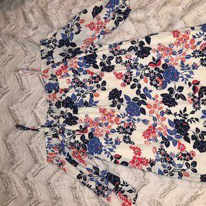 Trixxi Off-Shoulder Floral Dress